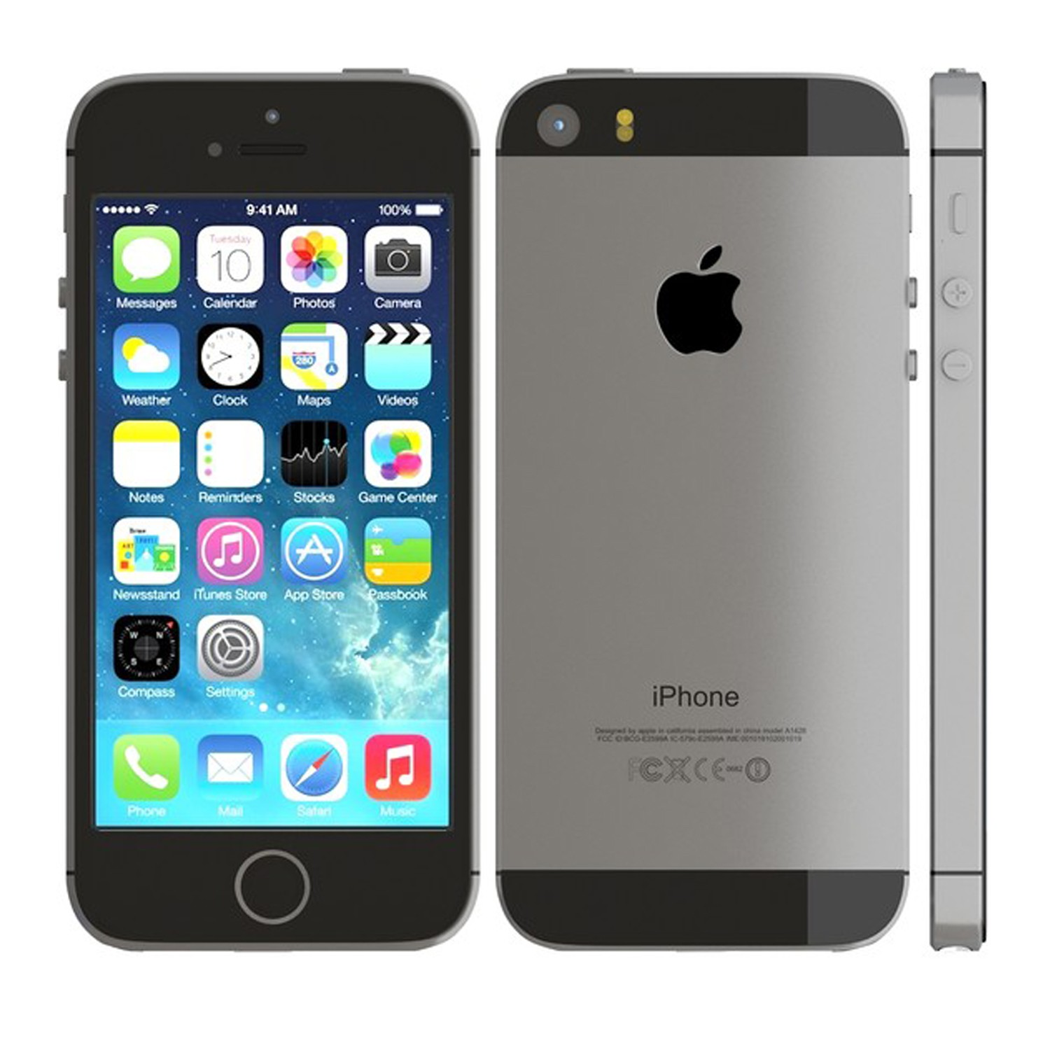 Apple Iphone 5S 32GB Space Gray (Skatloga modelis)