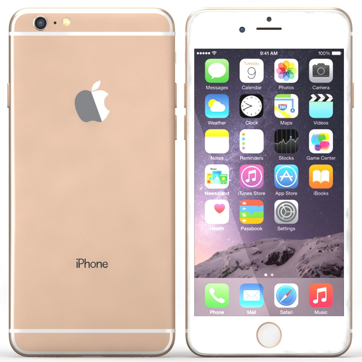 Apple iPhone 6s 64Gb Gold (Skatloga modelis)