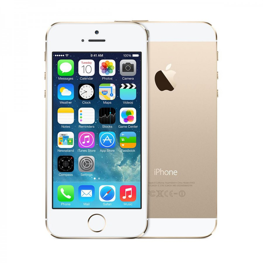 Apple Iphone 5S 32GB Gold (Skatloga modelis)