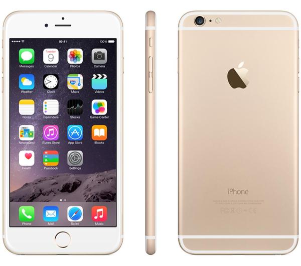 Apple iPhone 6 Plus 64Gb Gold (Skatloga modelis)