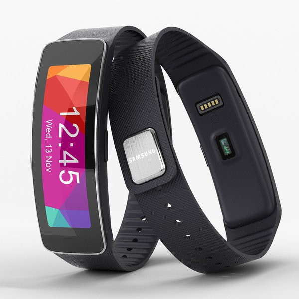 Samsung Gear Fit R350 black