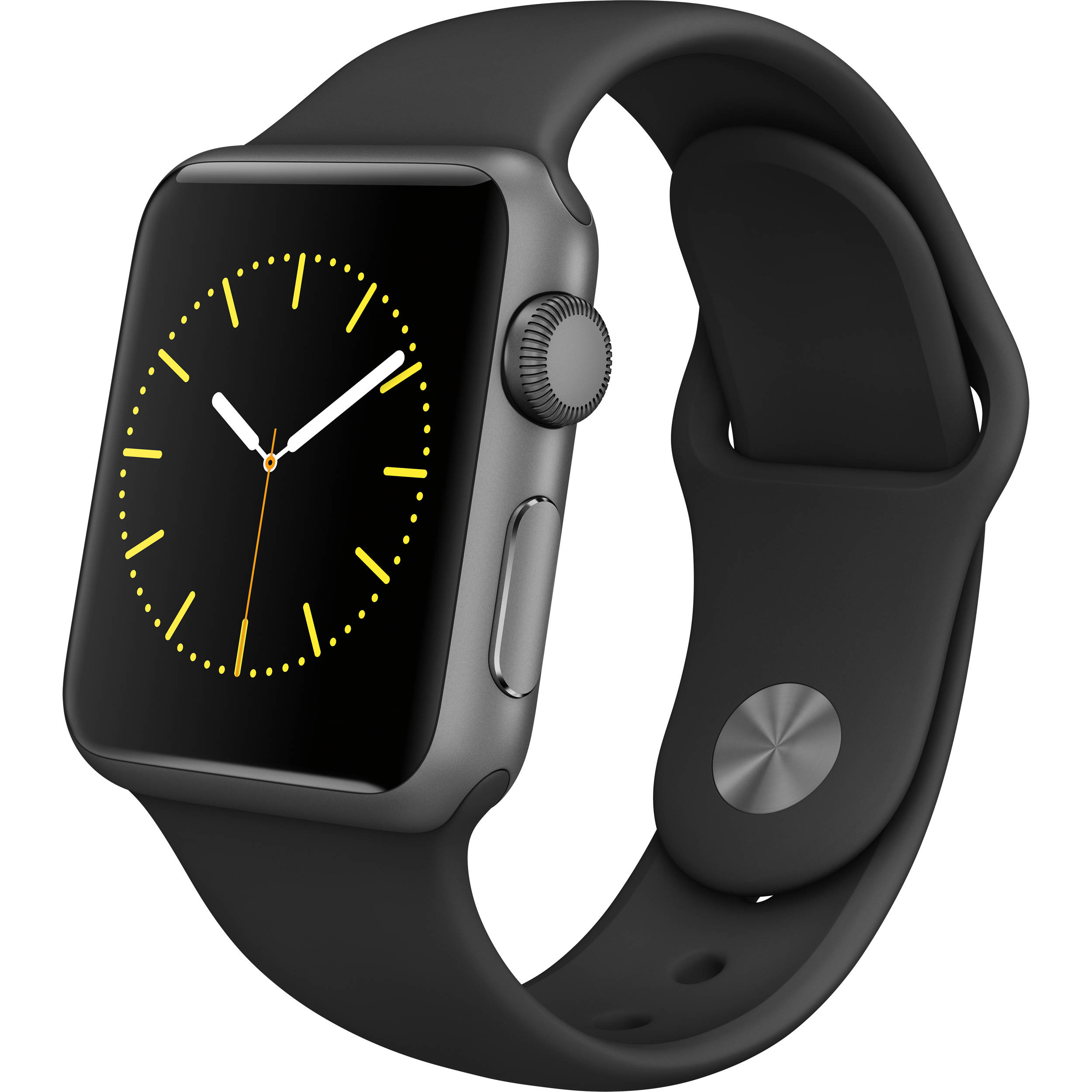 Apple Watch Series 1 38mm Stainless Steel Black/black