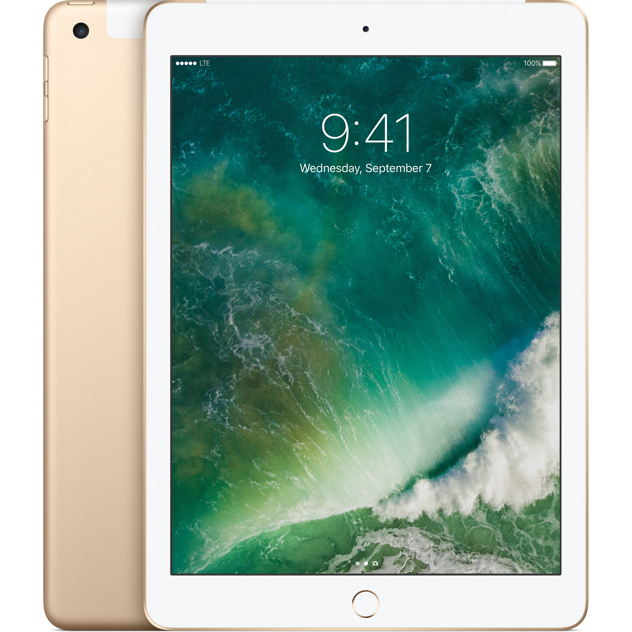"Apple iPad 9.7"" (2017) 128GB WiFi 4G Gold"