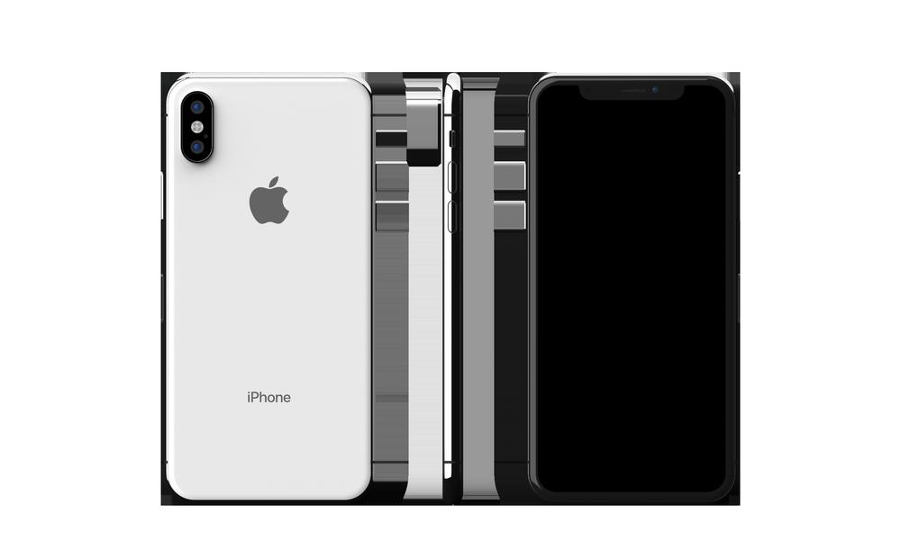 Apple iPhone X 256GB Silver (Skatloga modelis)
