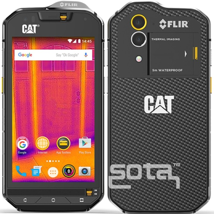 Caterpillar CAT S60 Dual 4G Black