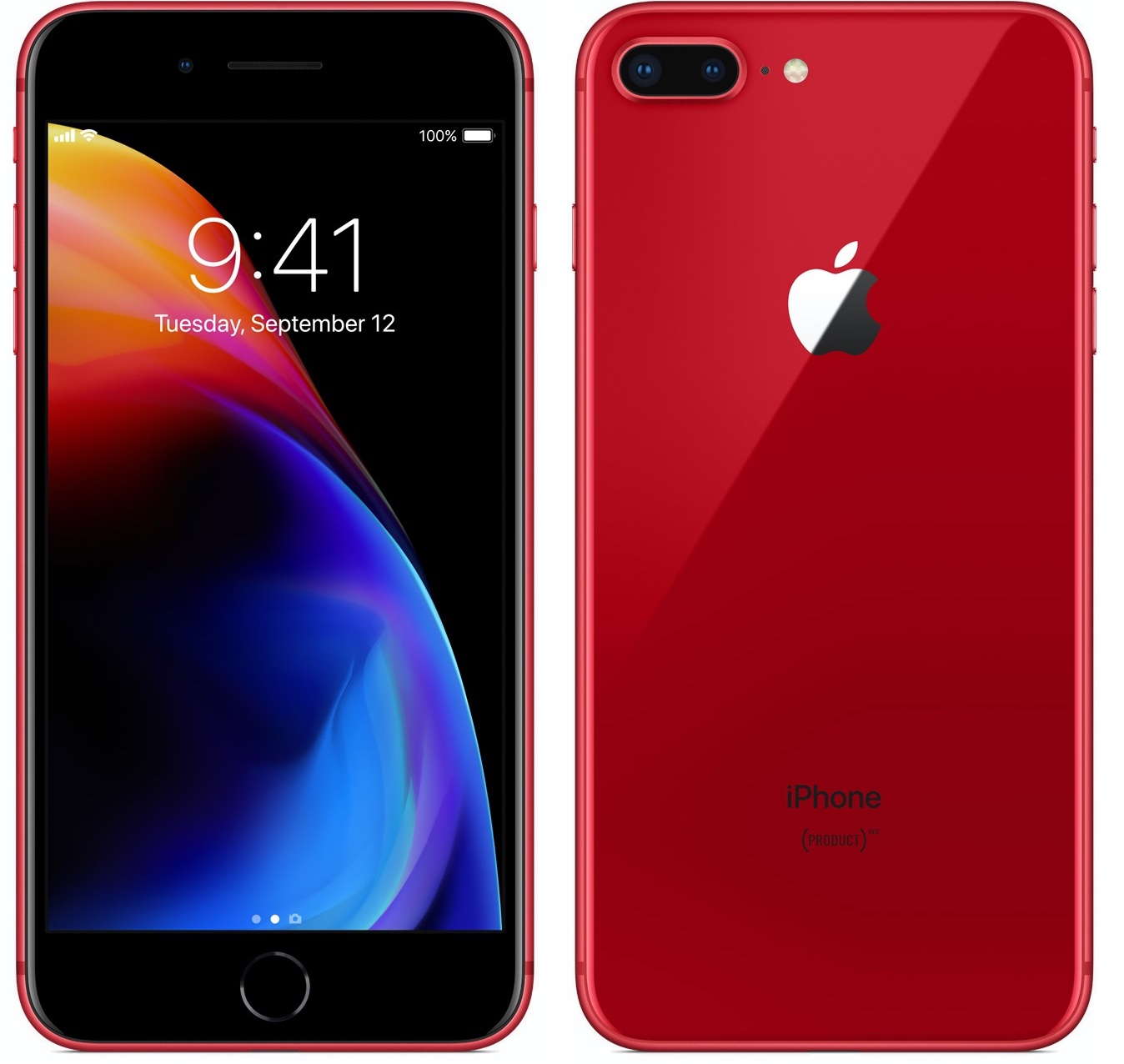 Apple iPhone 8 Plus 64GB Red (Skatloga modelis)