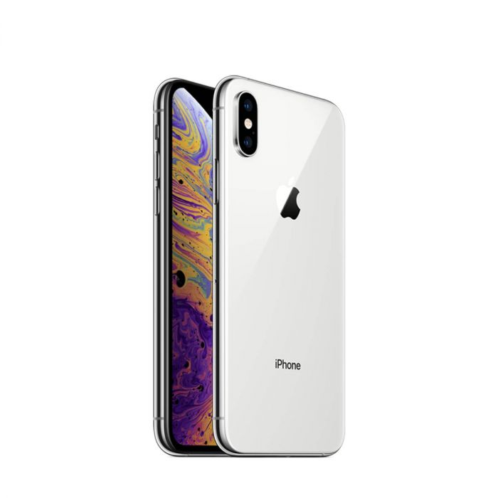 Apple iPhone XS 64GB Silver (Skatloga modelis)