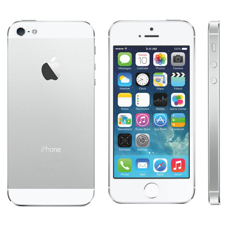 Apple Iphone 5S 16GB Silver (Skatloga modelis)