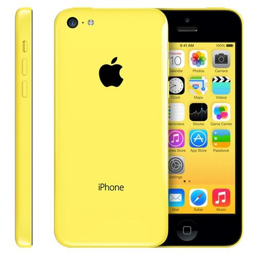 Apple iPhone 5C 8GB Yellow (Skatloga modelis)