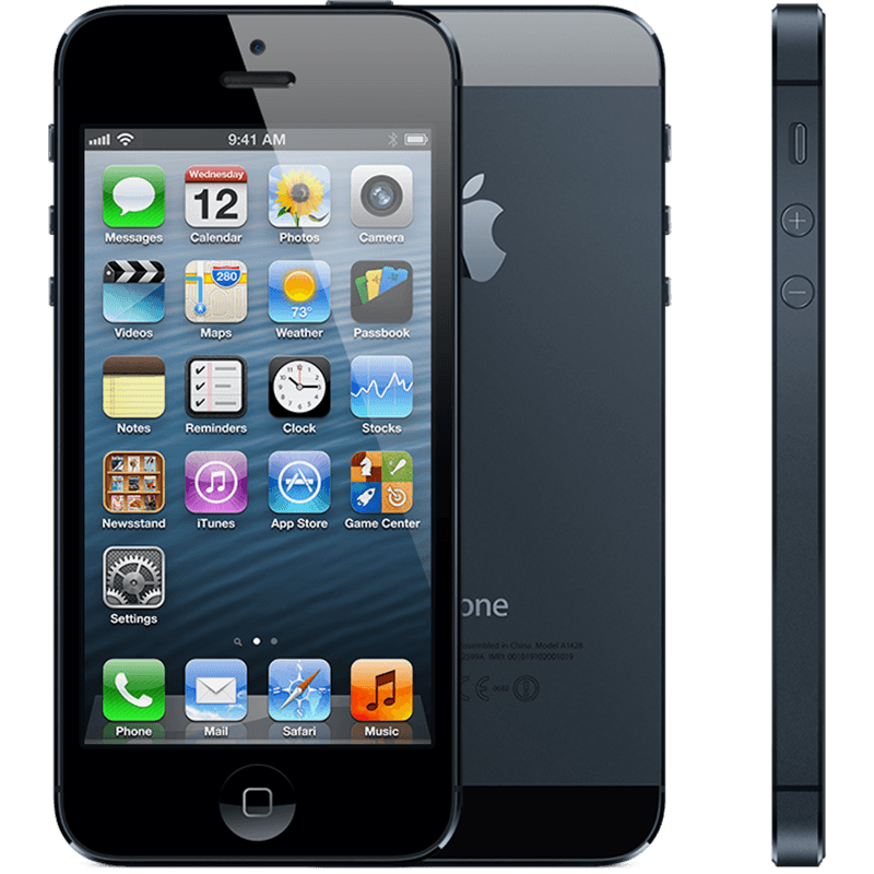 Apple iPhone 5 16GB Black (skatloga modelis)