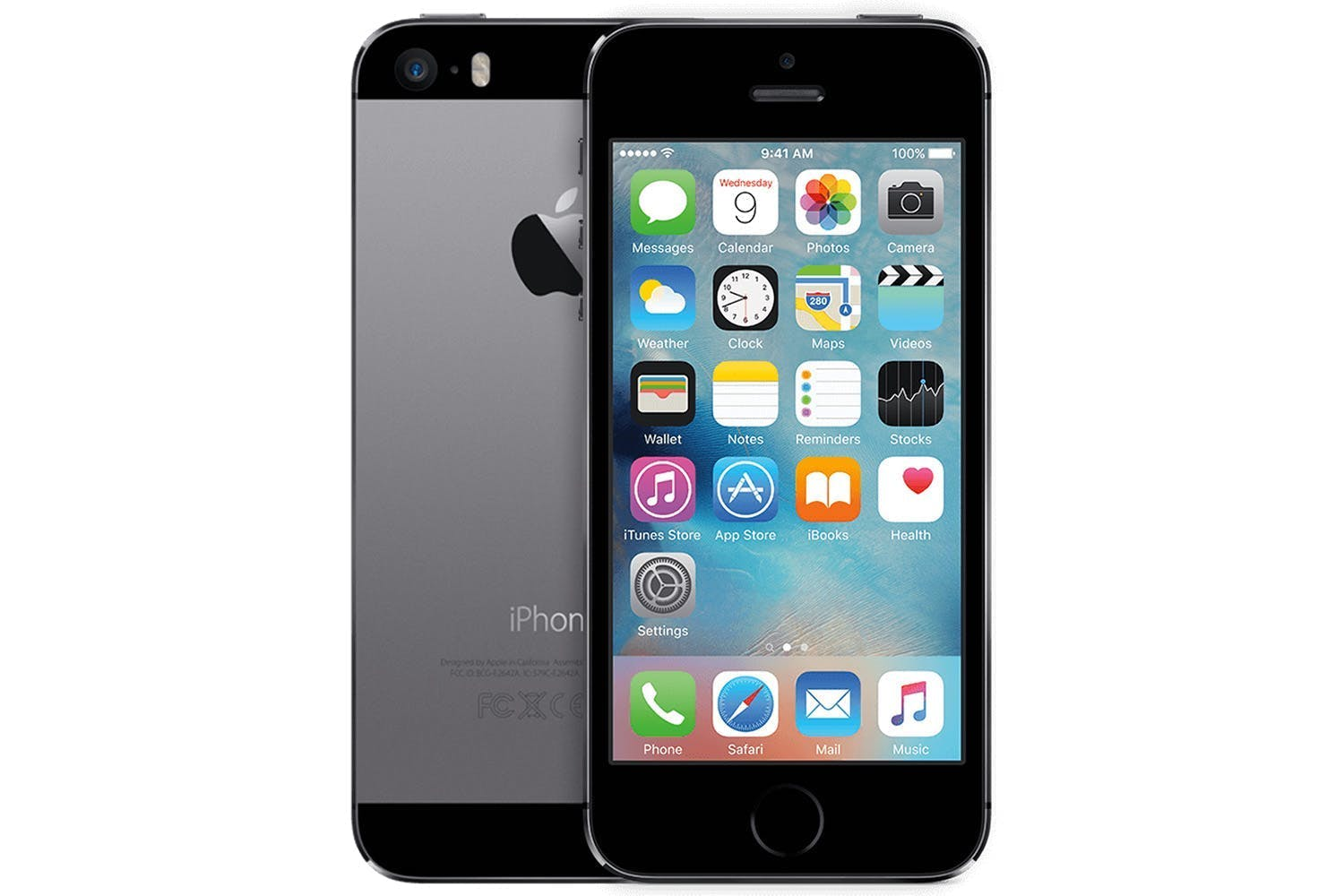 Apple Iphone 5S 16GB Space Grey (Skatloga modelis)
