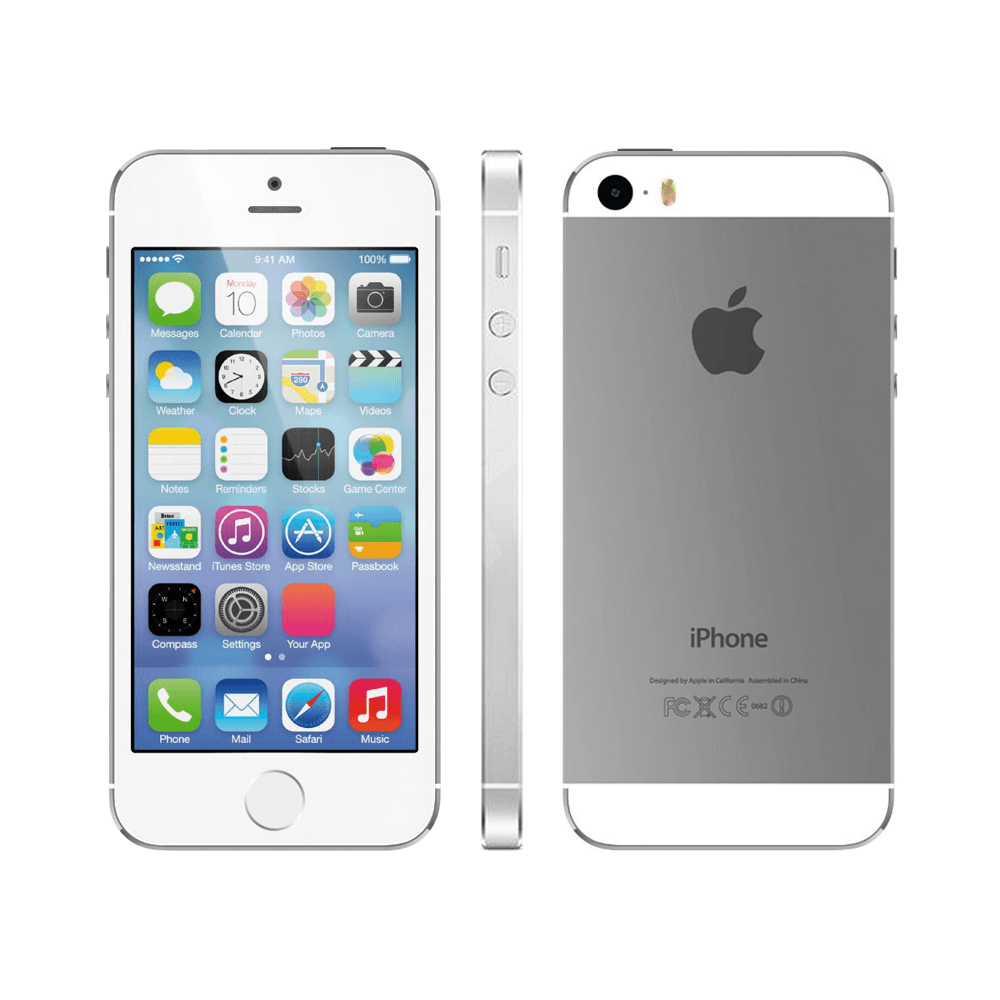 Apple Iphone 5s Silver 64gb (Skatloga modelis)