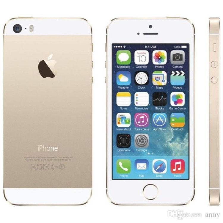 Apple Iphone 5S 16GB Gold (Skatloga modelis)