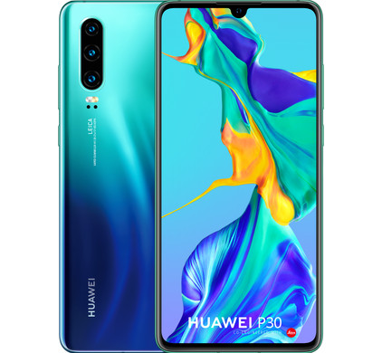 Huawei P30 Dual Sim 6/128GB RAM ELE-L29 Black Aurora