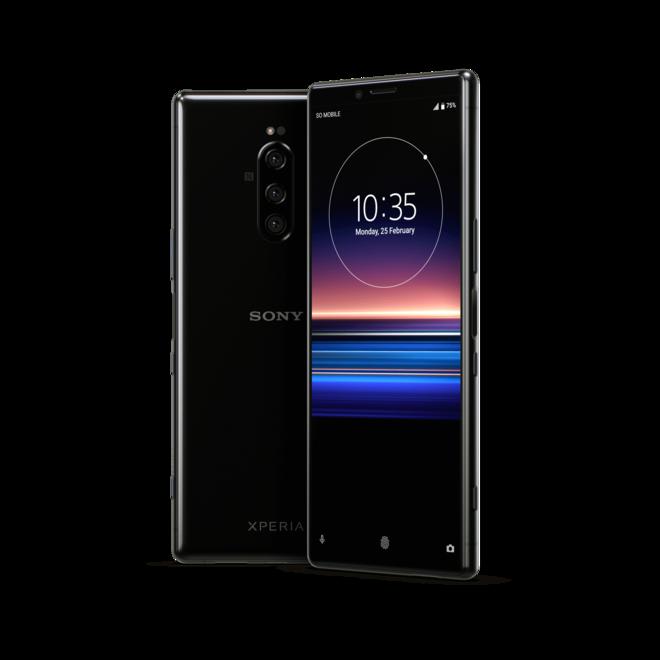 Sony Xperia 1 Dual SIM 128GB 6GB RAM J9110  Black