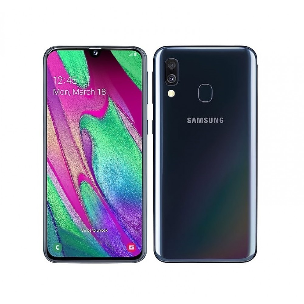 Samsung Galaxy A40 64GB A405FN/DS Black